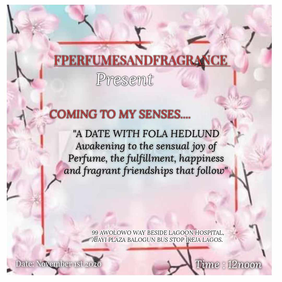 Coming To My Senses | A Date With Fola Hedlund